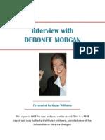 Interview With Debonee Morgan