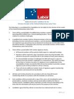 ALP Leadership Rules