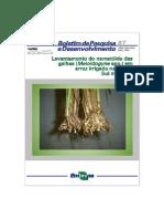 Levantamento do nematóide das galhas em arroz irrigado na região Sul do Brasil