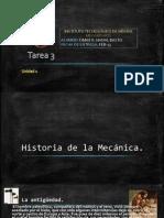 Historia de la mecánica