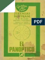 24544869 Bentham Jeremy El Panoptico 1791