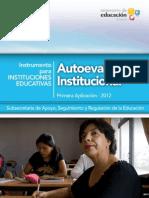 Instrumento Autoevaluacion General