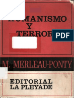 21260558 Merleau Ponty Maurice Humanismo y Terror 1947