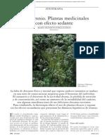 INSOMNIO PLANTAS MEDICINALES