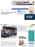 Www Ouest France Fr Actu ActuLocale Caen Les Classes Sport