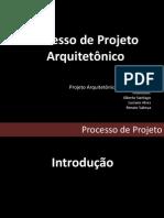 Processo de Projeto