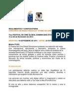 Reglamentos y Convocatoria #Tamoencine