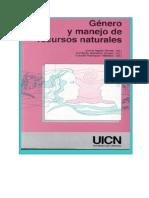 Genero Recursos Naturales UICN