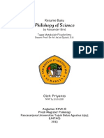 Resume of Philoshopy of Science by Alexander Bird