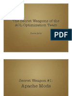 The Secret Weapons of the AOL Optimization Team