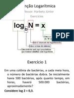 Função Logarítmica-Exercícios