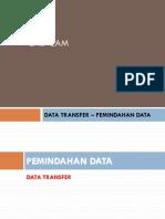 Cadcam - Data Transfer