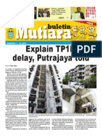 Buletin Mutiara  - English version - Sept #1 issue