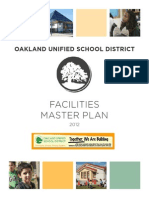 Oakland Unified School District Facilities Master Plan, 2012