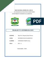 Lb 2 - Esterilizacion