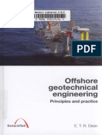 Offshore Geotechnical