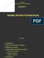 Lecture 2 Seismic Refraction Methods