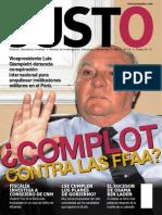 Giampietri denuncia complot contra las FFAA