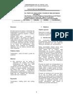 Informe Punto Fusion y Ebullicio Sustancia Organica
