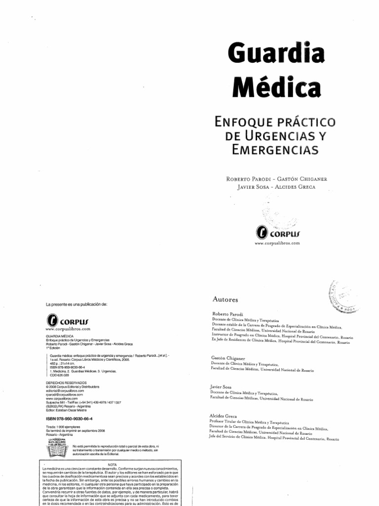 Guardia Medica Rinconmediconet P150k Sesi1122