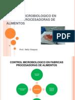 Control Microbiologico en Fabricas Procesadoras de Alimentos