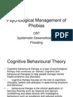 psychological management of phobias