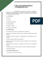 PERFIL DEL CONTADOR PÚBLICO