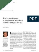 The inman Aligner. A progressive approach to smile design