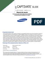 ATT i927 Captivate Glide Spanish User Manual KL1 F1