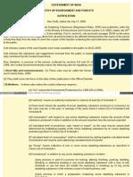 Ozone Depleting Substance Rule n Regulation