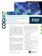 A Framework for Detecting Macroeconomic Changes and Their Effect on a Bank's Business Model
