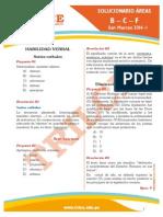 Solucionario San Marcos 2014-I Letras