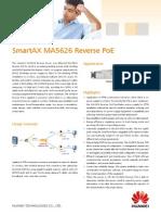 Huawei SmartAX MA5626 Reverse POE Brief Product Brochure(9-Feb-2012)