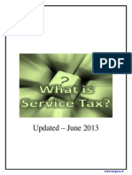 Understanding Service Tax Concepts-2013