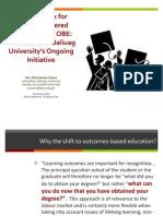 Framework for Transition to Learner Centered Education Dr Ali