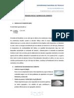 Propiedades Fisicas y Quimicas Del Cemento