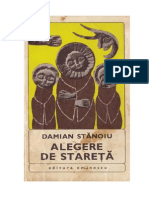 Alegere de Stareta - Stanoiu, Damian