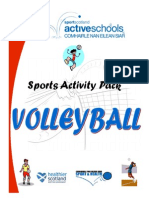 Volleyball Games, Skills & Drills