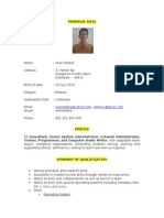 CV September Netral 2013 Iwan Sofana