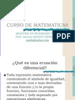 Curso de Matematicas m 1