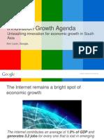 6th SAES - Presentation by Ann Lavin (Google, Asia-Pacific) on Innovation and Enterpreneurship