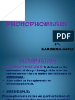 phonophoresis