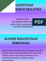 Kesantunan Masyarakat Malaysia (1)