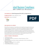 Risk Management ISO 14971 for Medical Devices