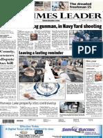Times Leader 09-17-2013
