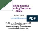 Decoding Reality - Awakening Everyday Magic
