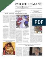 L'Osservatore Romano, 4-9-2013