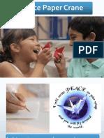 Peace Paper Crane