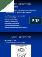 Bone Infections (Osteomyelitis)