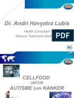 Cellfood Autism and Cancer